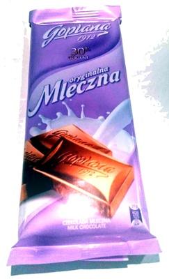 Czekolada mleczna - Produit - pl