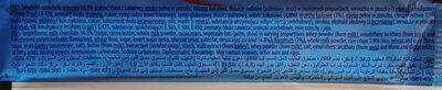 Herbatnik z karmelem 37,3%, wiórkami kokosowymi, orzechami laskowymi i chrupkami ryżowymi w czekoladzie mlecznej. - Składniki - pl