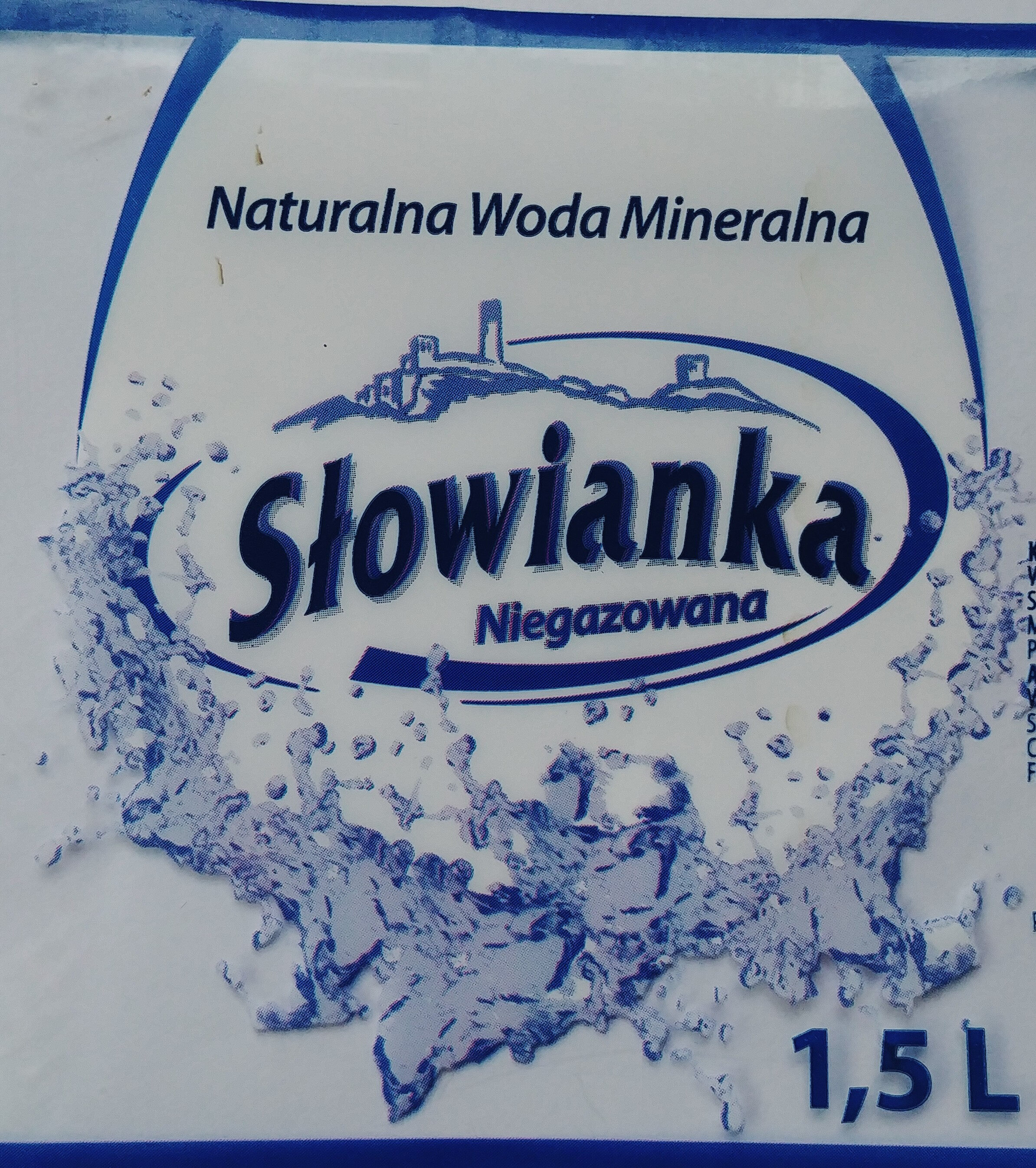 Naturalna woda mineralna niegazowana - Produkt