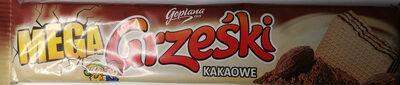 Wafel przekładany kremem kakaowym. - Produkt