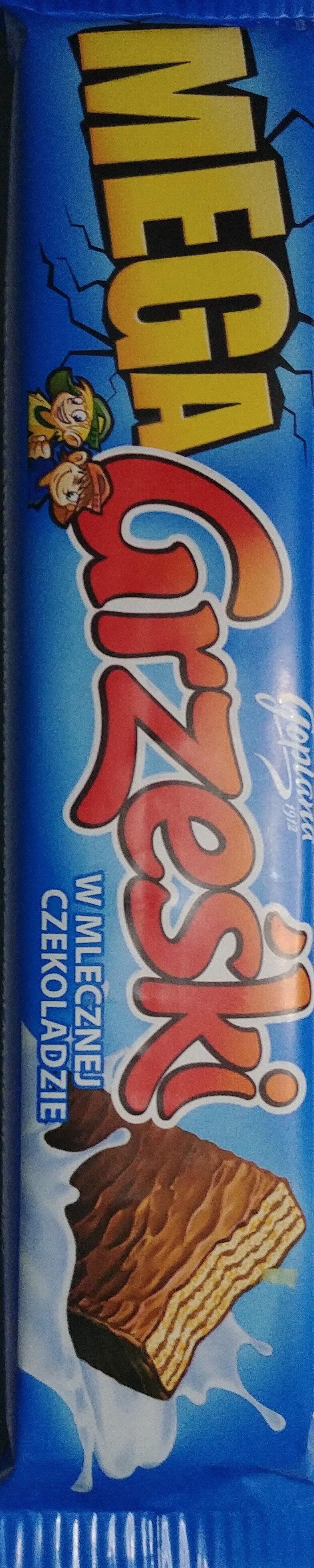 Mega Grześki w mlecznej czekoladzie - Product - pl