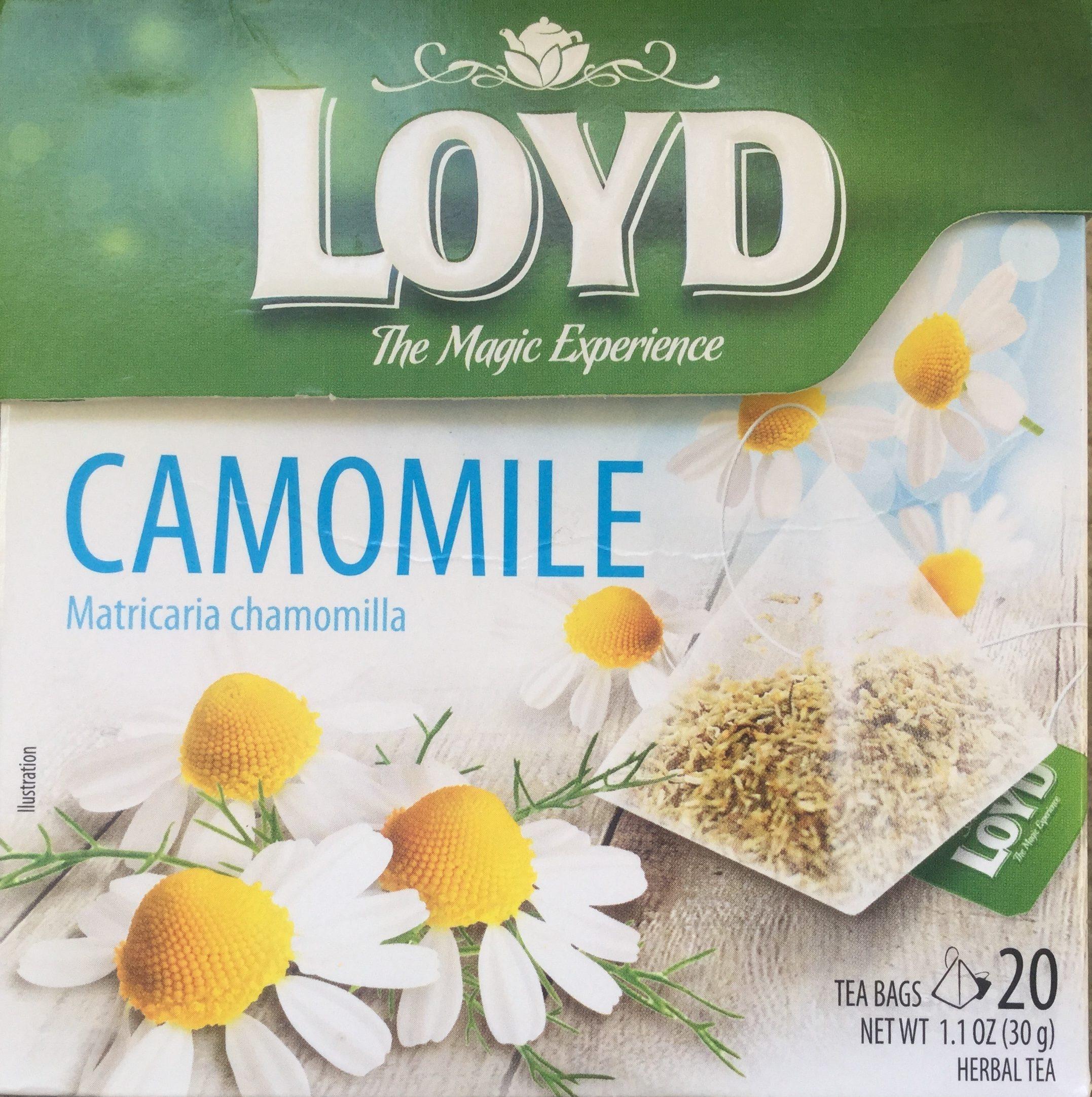 Camomile Matricaria Chamomilla - Produit - en