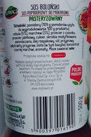 Sos Boloński - Ingredients - pl