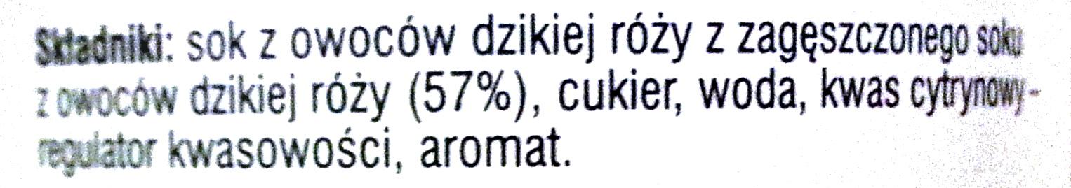 Łowicz Dzika róża - Składniki