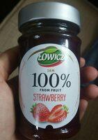 Lowicz Jam Strawberry - Product - en