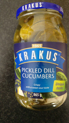 Pickled Dill Cucumbers - Product