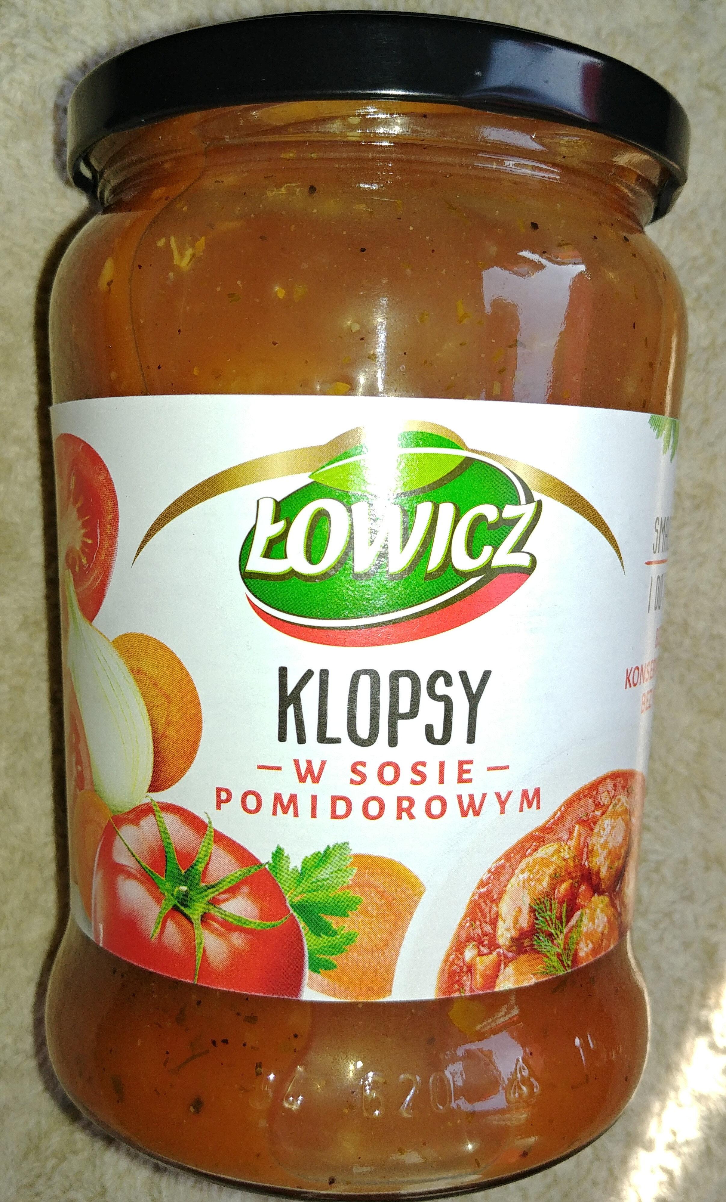 Klopsy w sosie pomidorowym - Product - pl