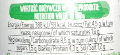 Klopsy w sosie pomidorowym - Nutrition facts - pl