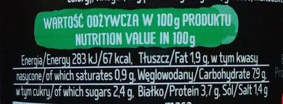 Kociołek Rosyjski - Wartości odżywcze - pl
