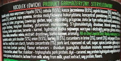 Kociołek Łowicki - Ingredients - pl