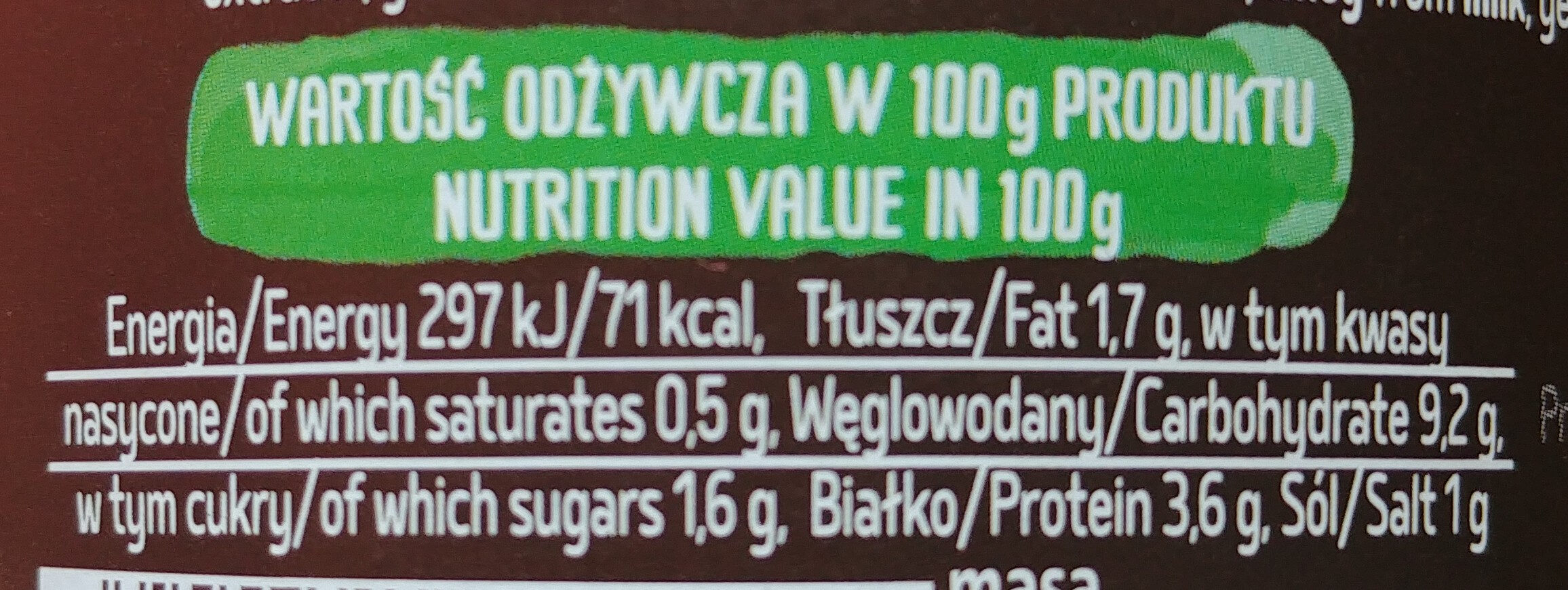 Kociołek Łowicki - Wartości odżywcze