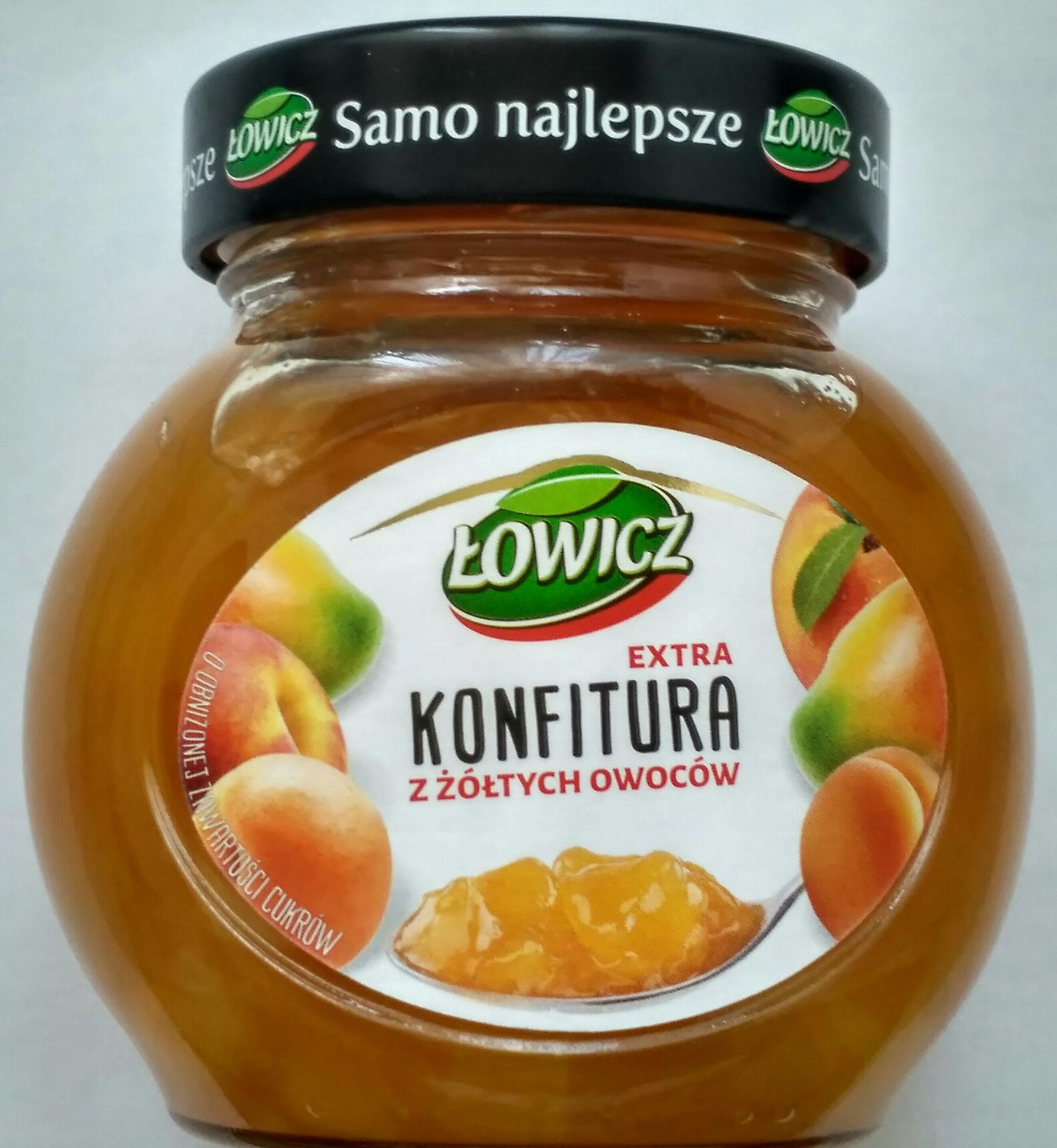 Konfitura z żółtych owoców - Product - pl