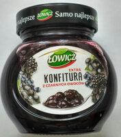 Konfitura z czarnych owoców - Produkt - pl