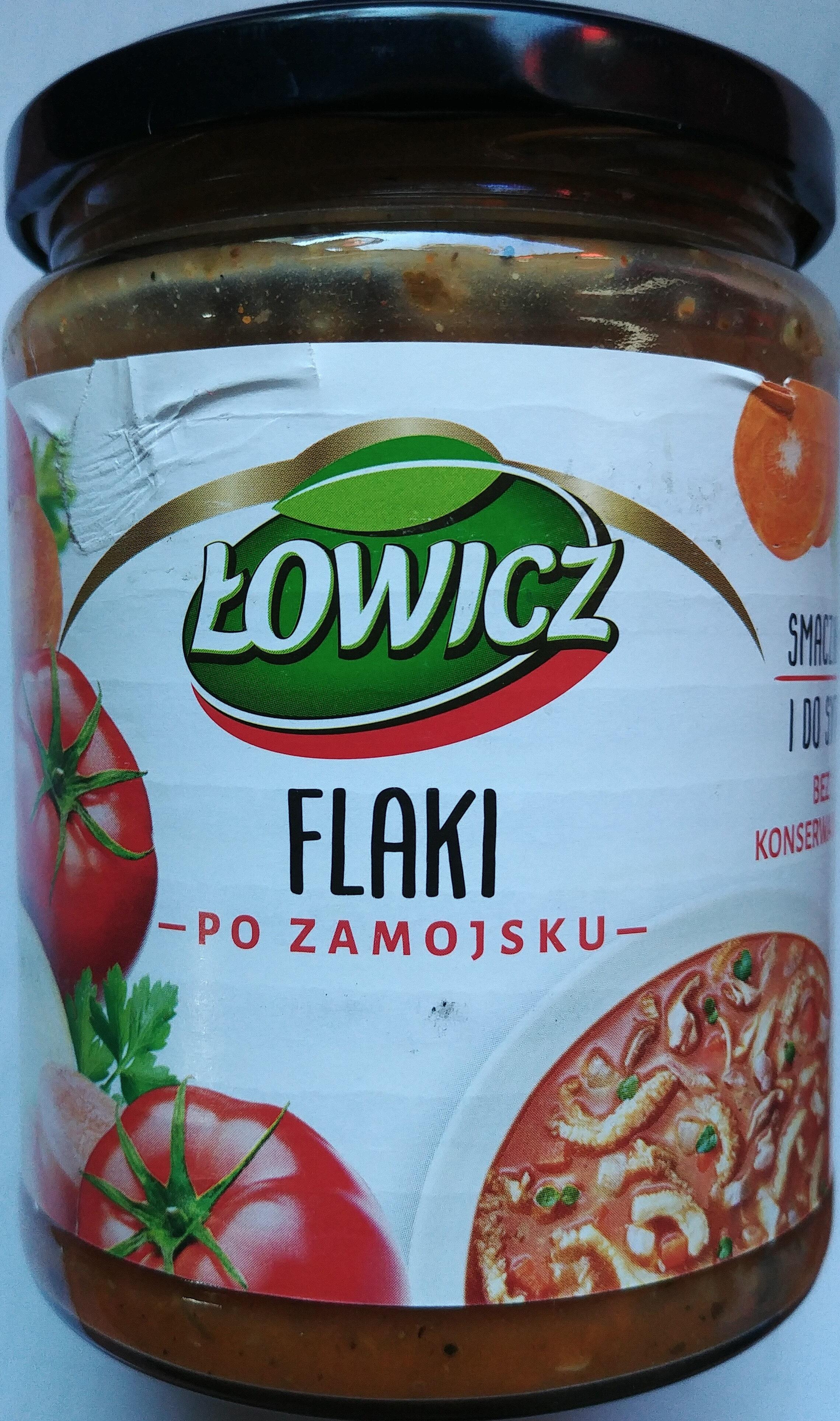 Flaki po Zamojsku wołowo-wieprzowe - Produkt