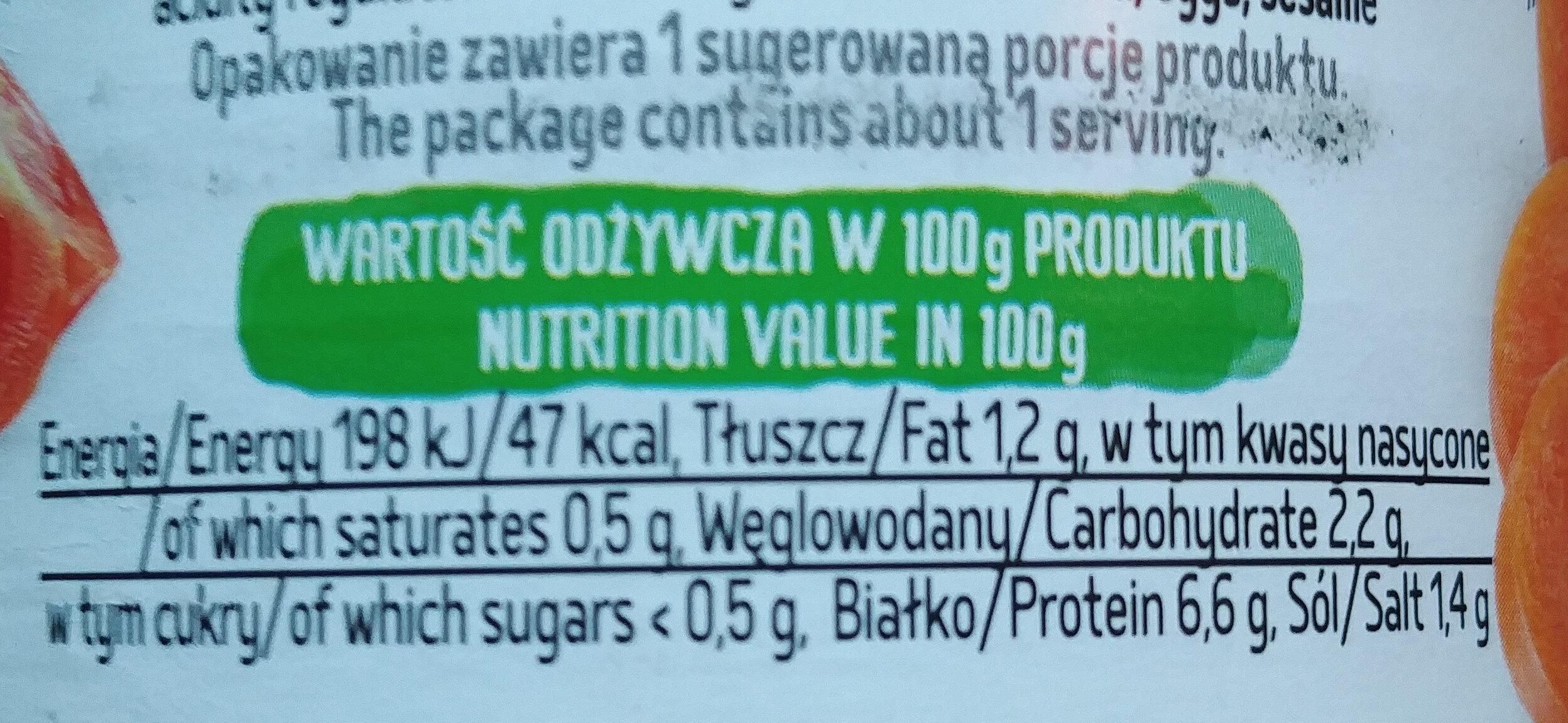 Flaki po Zamojsku wołowo-wieprzowe - Wartości odżywcze