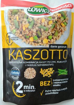 Kasza jęczmienna pęczak z kukurydzą i fasolą szparagową - Produkt - pl