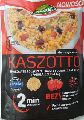 Kasza bulgur z papryką i czerwoną fasolą - Produkt - pl