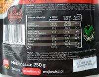 Kasza bulgur z papryką i czerwoną fasolą - Nutrition facts - pl