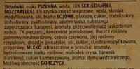 Pizza Guseppe z szynką i pieczarkami głęboko mrożona - Składniki - pl