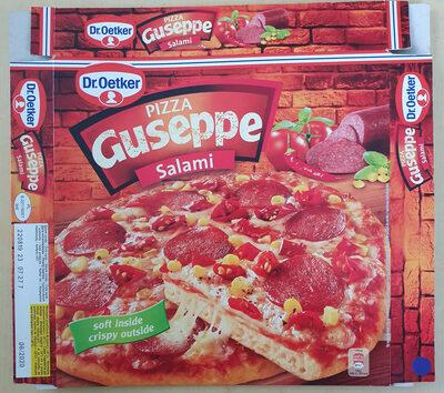Pizza Guseppe Salami - Produit - hu