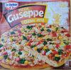 Pizza Guseppe z kurczakiem w przyprawie masala i curry, głęboko mrożona. - Produkt