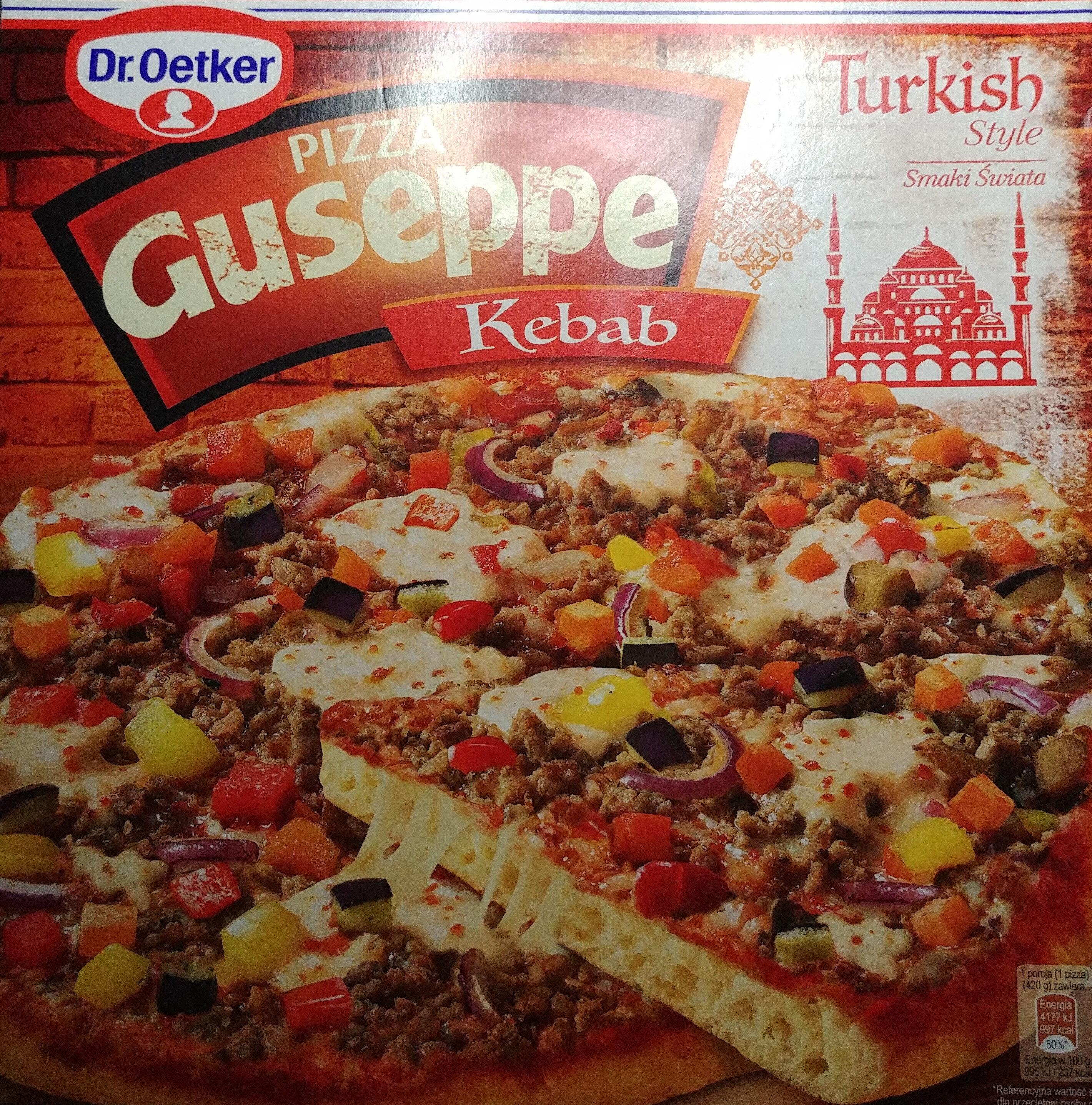 Pizza Guseppe z mięsem wołowym i warzywami, głęboko mrożona - Produkt - pl