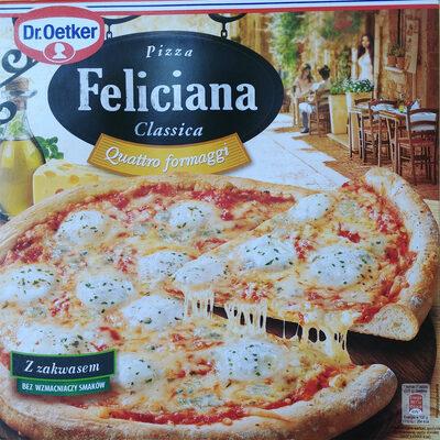 Pizza 4 sery, głęboko mrożona. - Produkt
