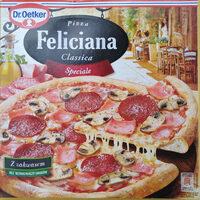 Pizza z szynką, pieczarkami i salami, głęboko mrożona. - Product - pl