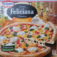 Pizza z pieczonym kurczakiem i serem ricotta, głęboko mrożona. - Produkt - pl