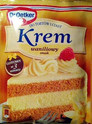 Dr.Oetker Krem waniliowi smak - Produkt