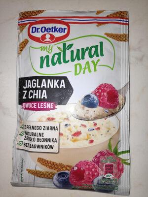 Jaglanka z Chia owoce leśne - Product