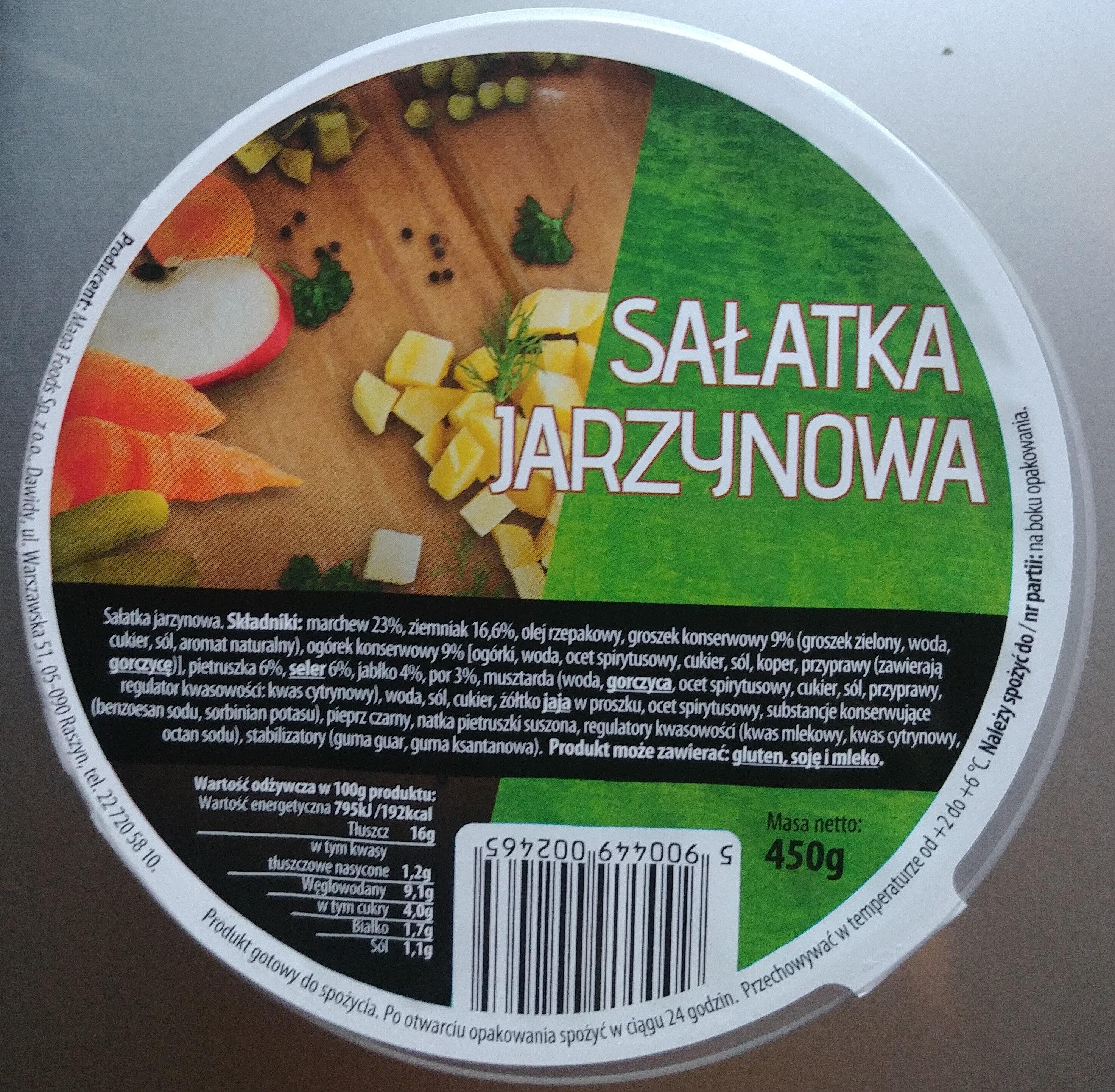 Sałatka jarzynowa - Produkt - pl