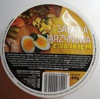 Sałatka jarzynowa z jajkiem - Produkt