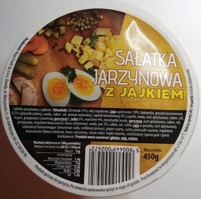 Sałatka jarzynowa z jajkiem - Produkt - pl