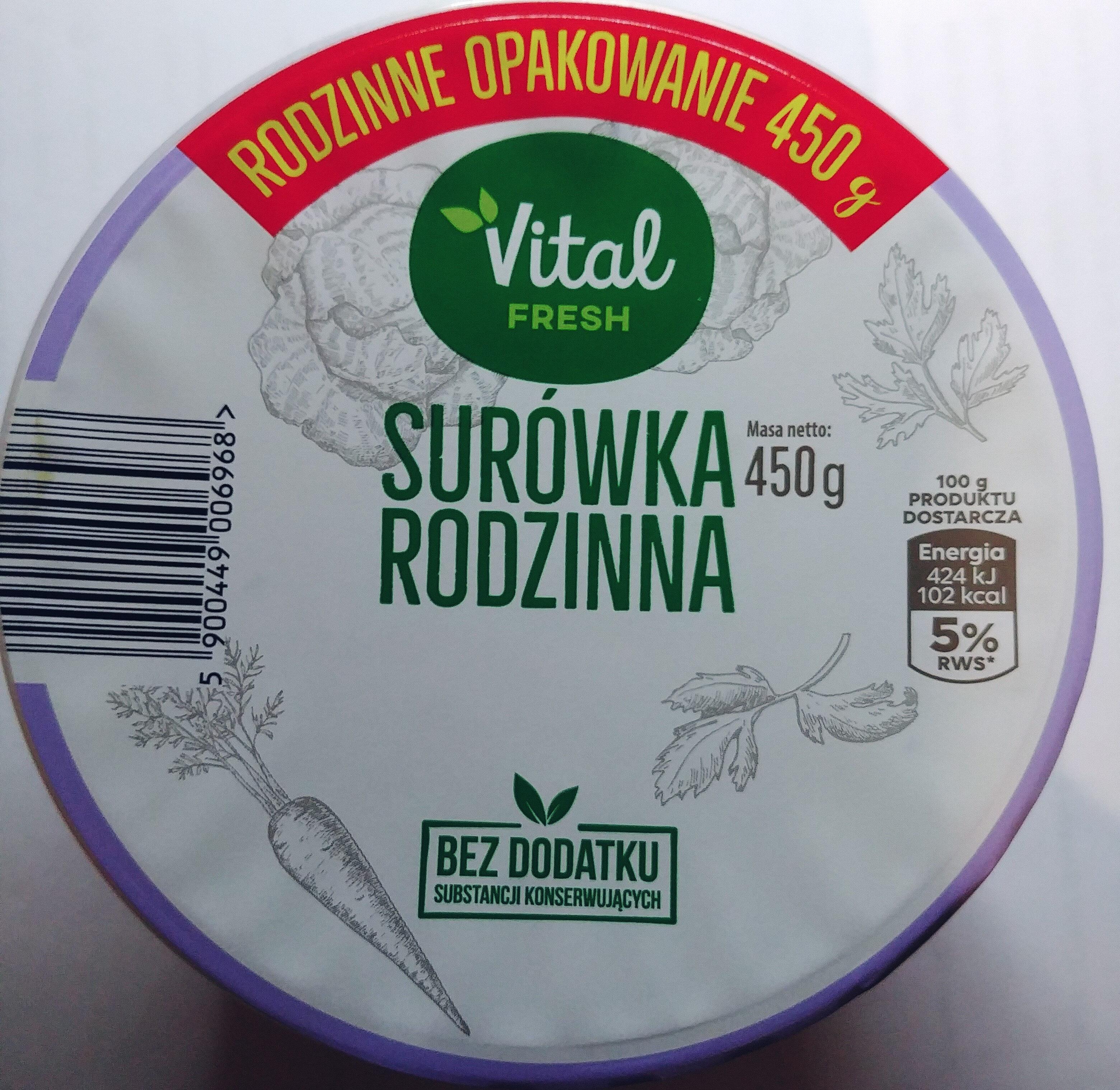 Surówka z białej kapusty z marchewką i natką pietruszki - Produkt - pl