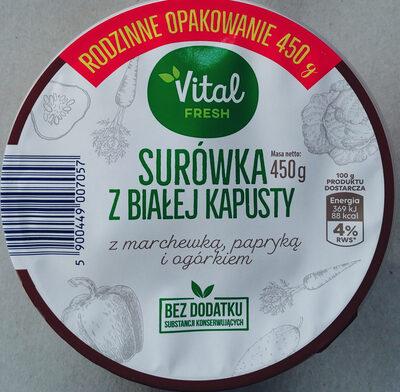 Surówka z białej kapusty - Product - pl