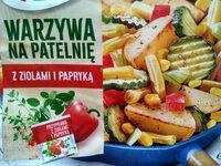 Warzywa na patelnię z ziołami i papryką - Produkt - pl