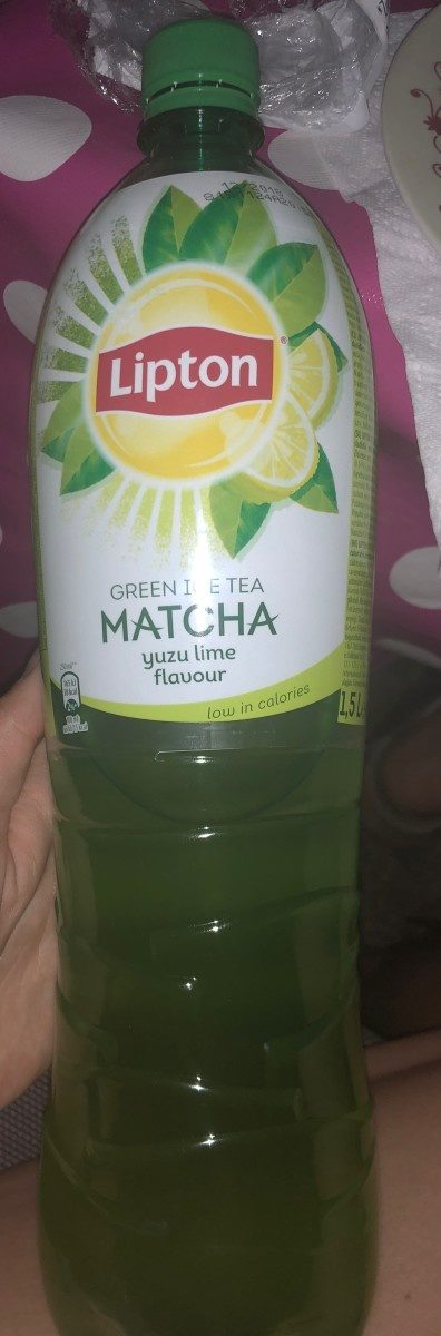 Green ice tea matcha - Product - fr