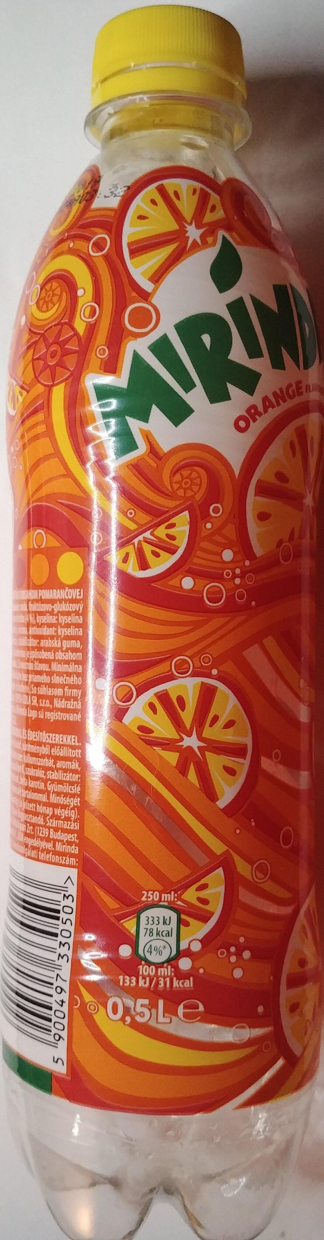 Napój gazowany o smaku pomarańczowym - Product - pl
