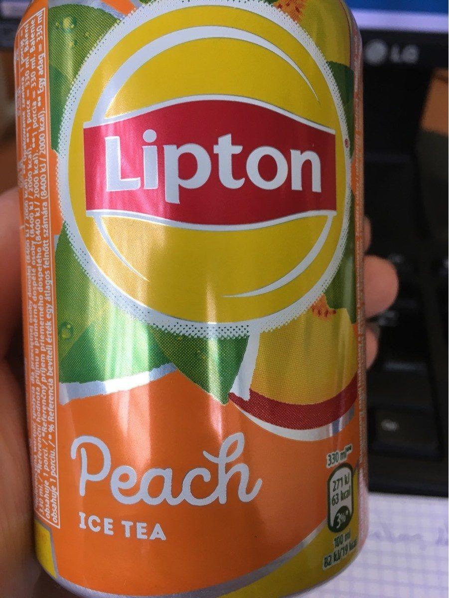 Lipton Peach Ice Tea - Product