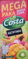 Multiwitamina, napój wieloowocowo-marchwiowy - Produkt - pl