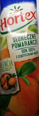 Sok pomarańczowy z cząsteczkami miąższu - Produkt