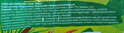 Brasil - Ingredients - pl