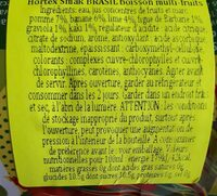 Brasil - Wartości odżywcze - pl