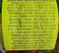 Brasil - Nutrition facts - pl