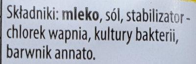 Gouda, ser mierzwiony - Ingrediënten - pl