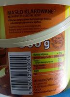 Bezwodny tłuszcz mleczny - Produkt - pl