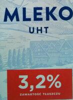 mleko UHT 3,2% - Inhaltsstoffe