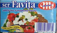 Ser miękki solankowy, tłusty, Favita - Produkt - pl