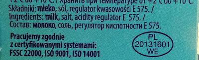 Ser miękki solankowy, tłusty, Favita - Składniki - pl